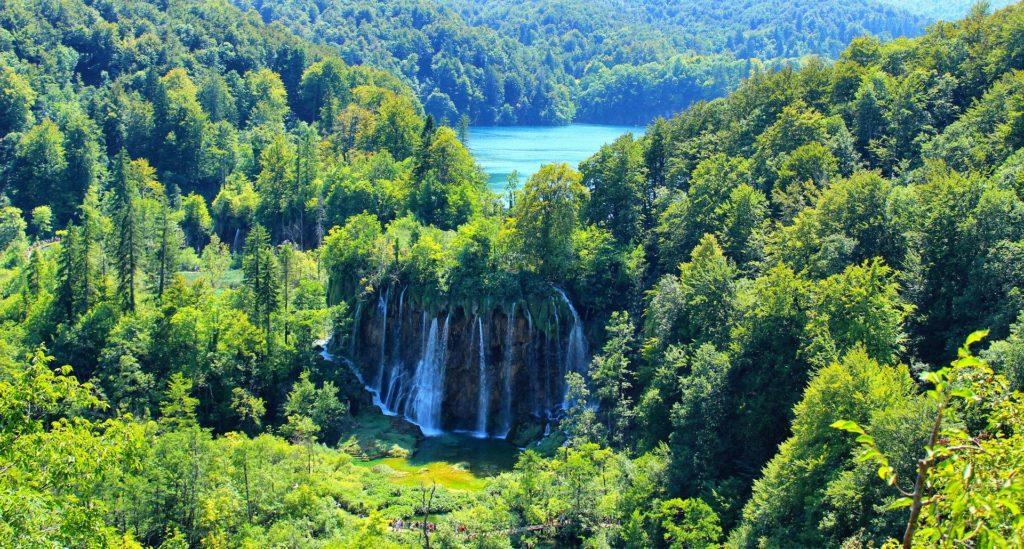 Plitvice lakes are most beautiful nature wonder in your Croatia van road trip