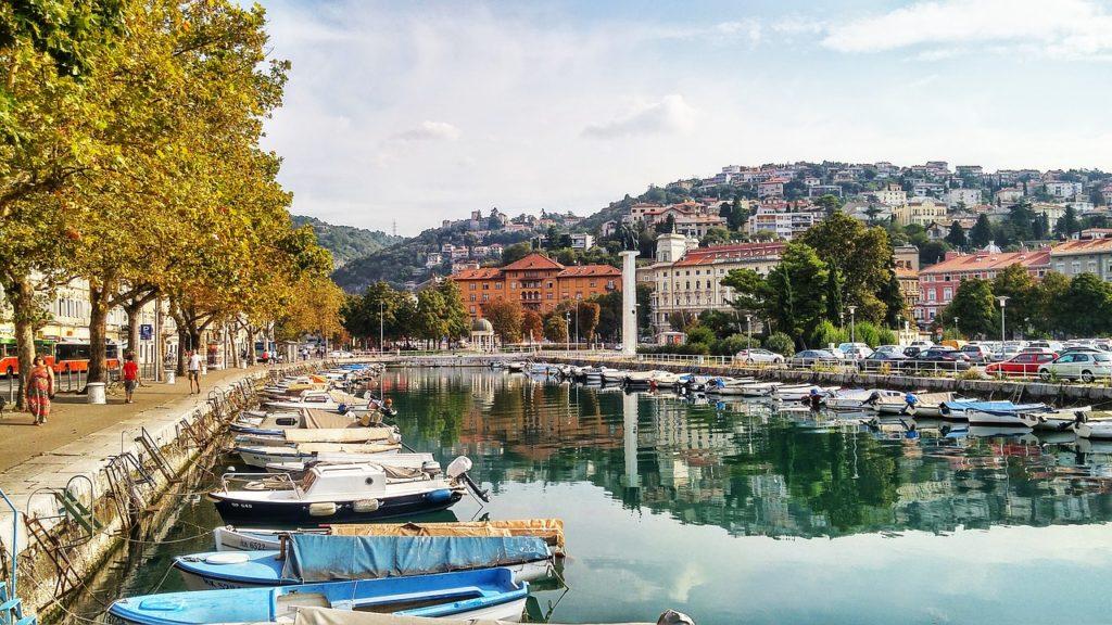 Rijeka is great city to start Croatia van road trip