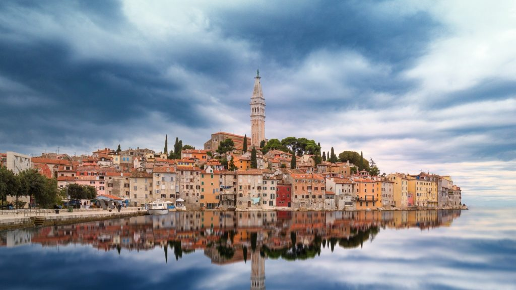 Rovinj is beautiful city so you have to involve it in your Croatia van road trip