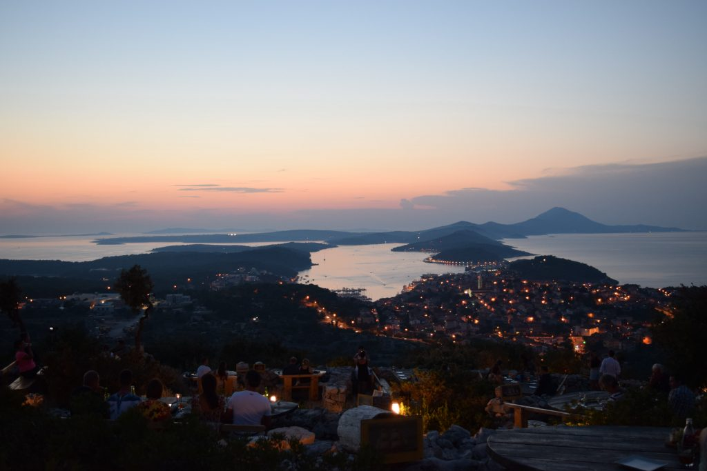 View from Viewpoint Providenca - must visit on Croatia van trip.